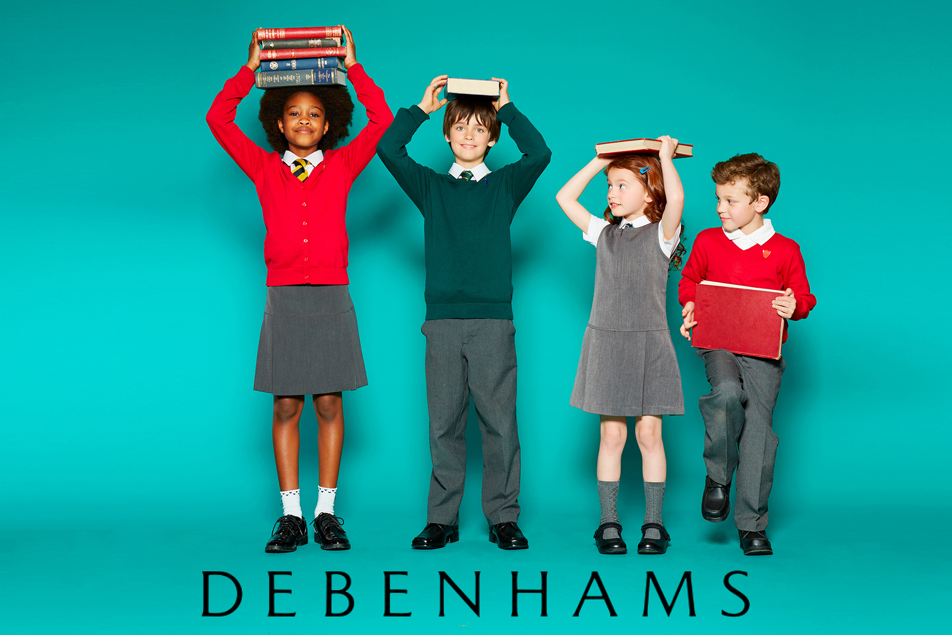 Debenhams kids fashion school campaign 2