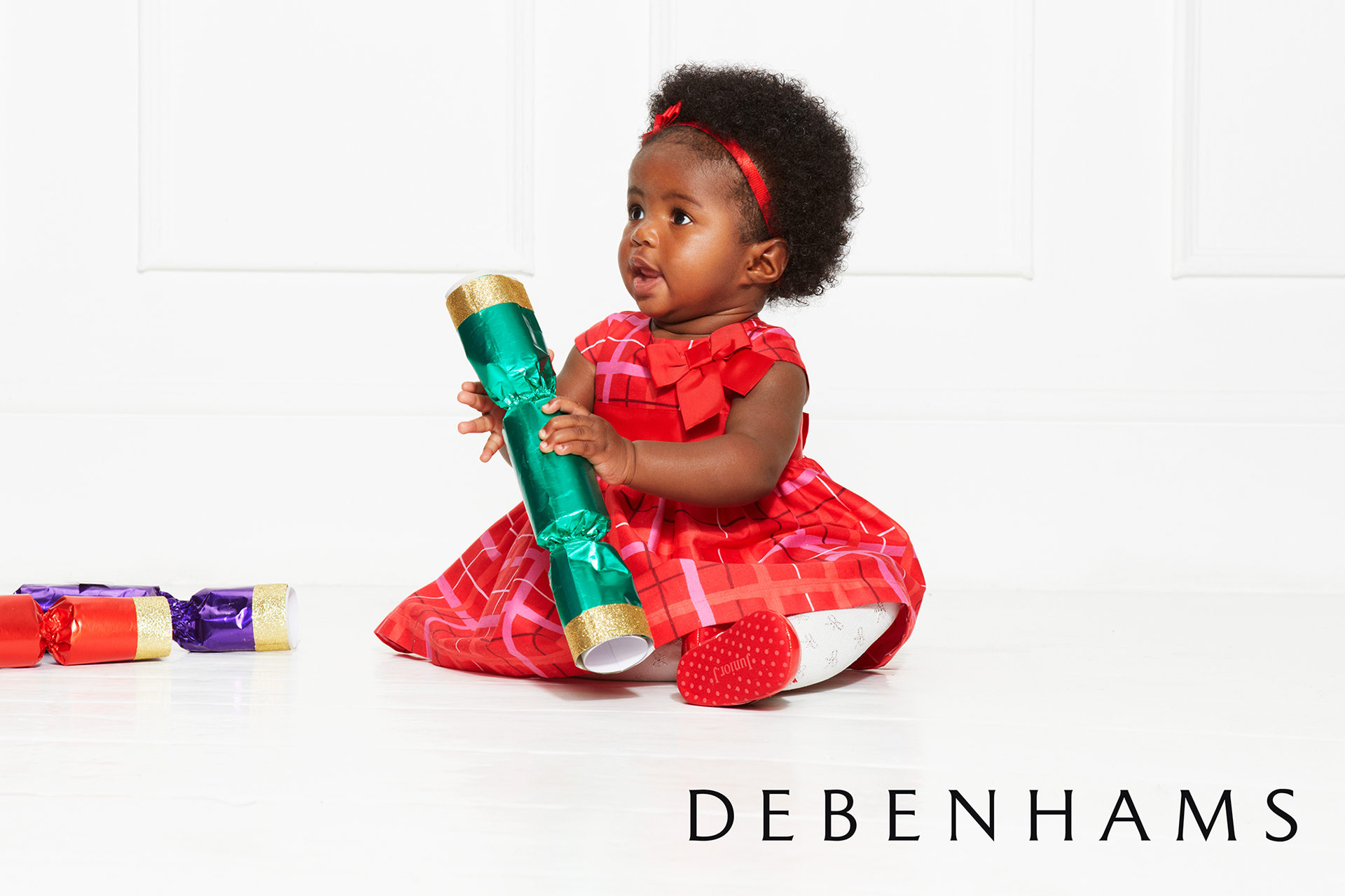 Debenhams kids fashion campaign christmas 8