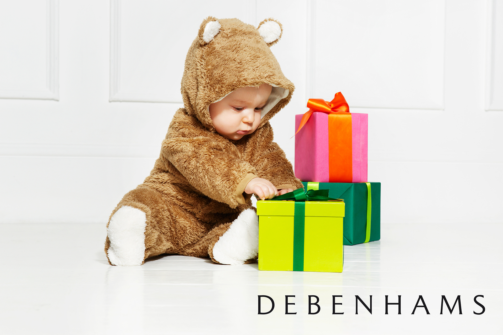 Debenhams kids fashion campaign christmas 9
