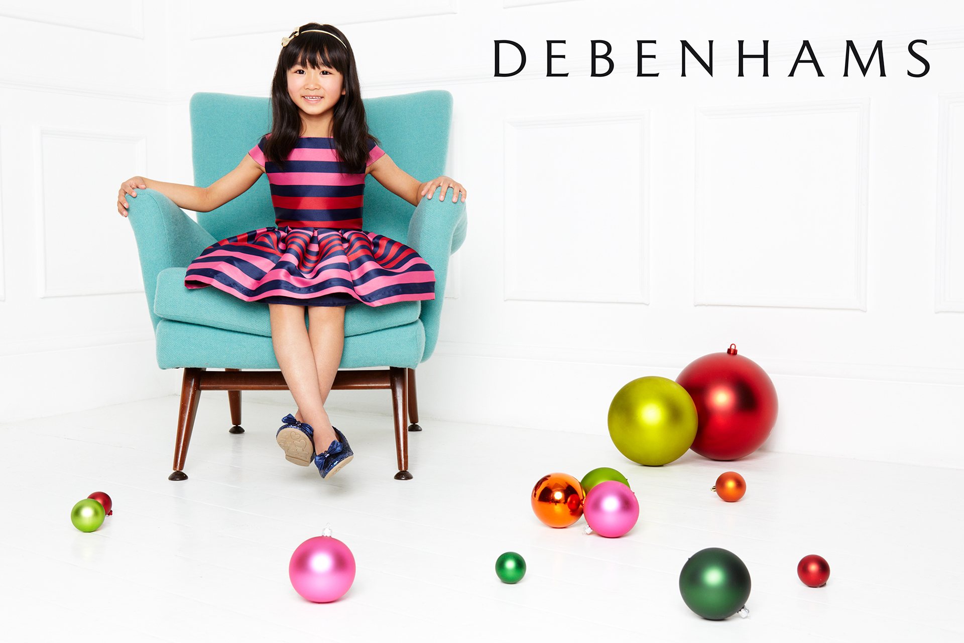 Debenhams kids fashion campaign christmas 6