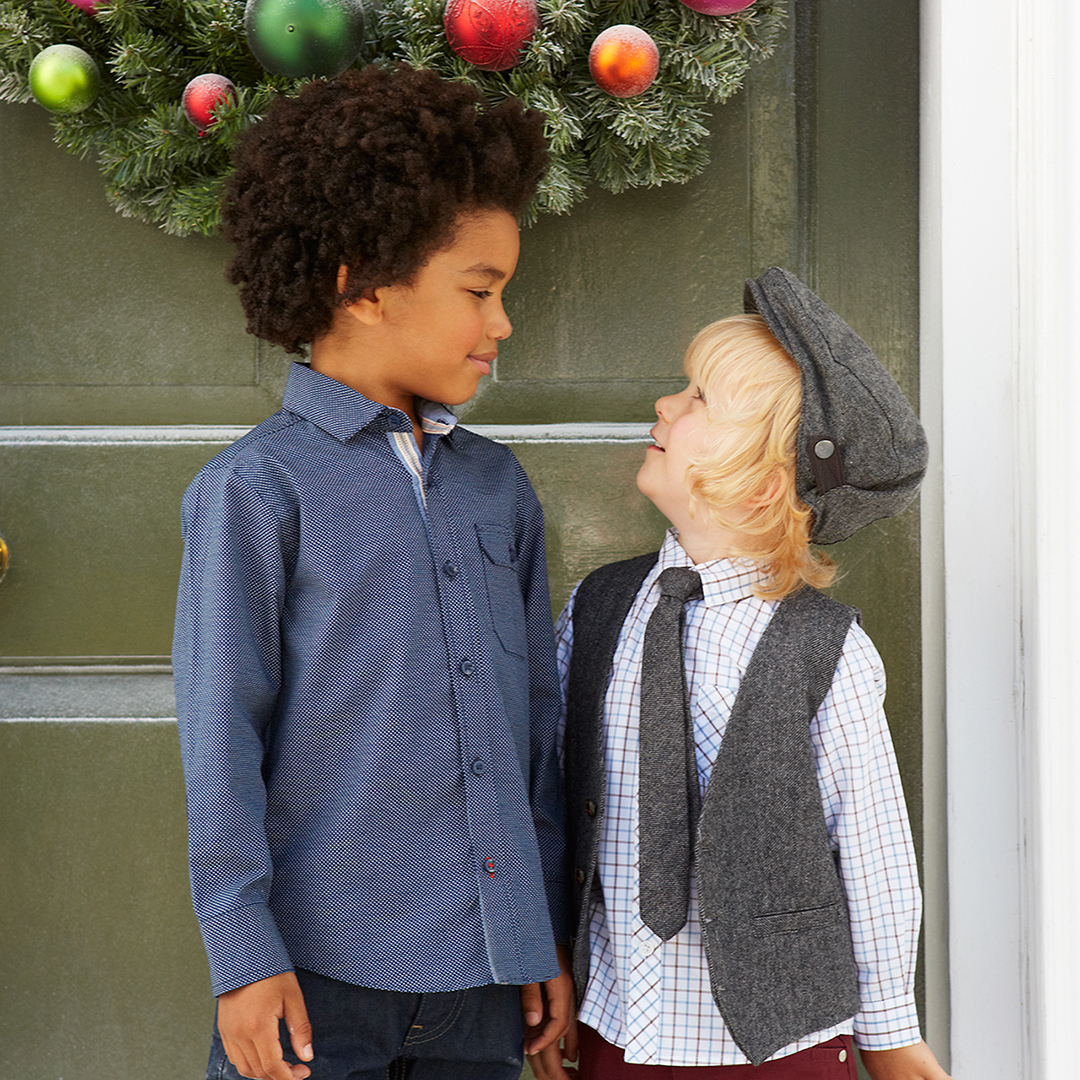 Debenhams kids fashion campaign christmas 3
