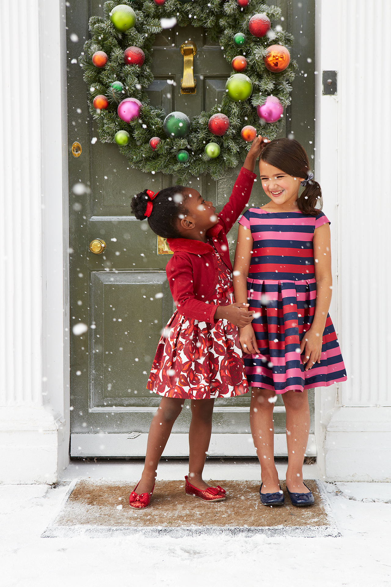 Debenhams kids fashion campaign christmas 5