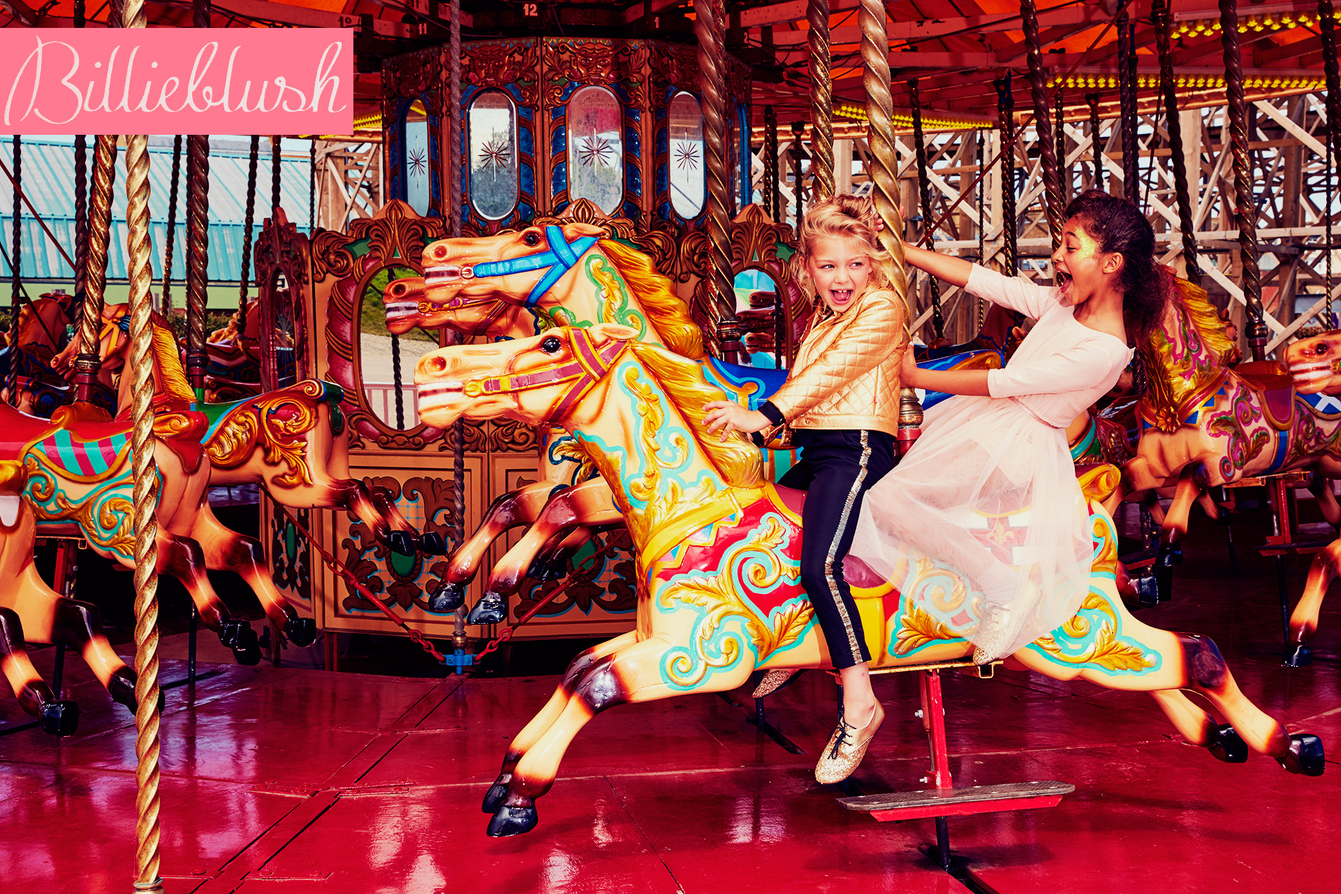 BillieBlush kids fashion campaign  3