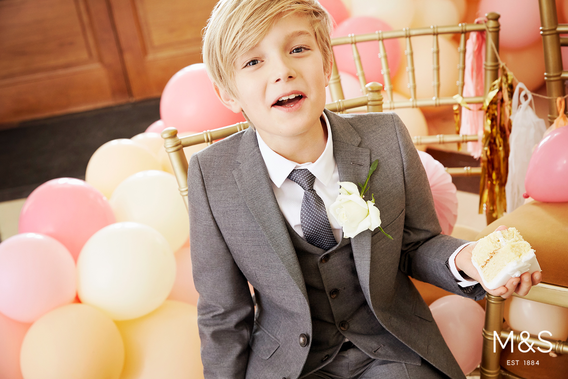 Marks and Spencers kids fashion wedding campaign 5