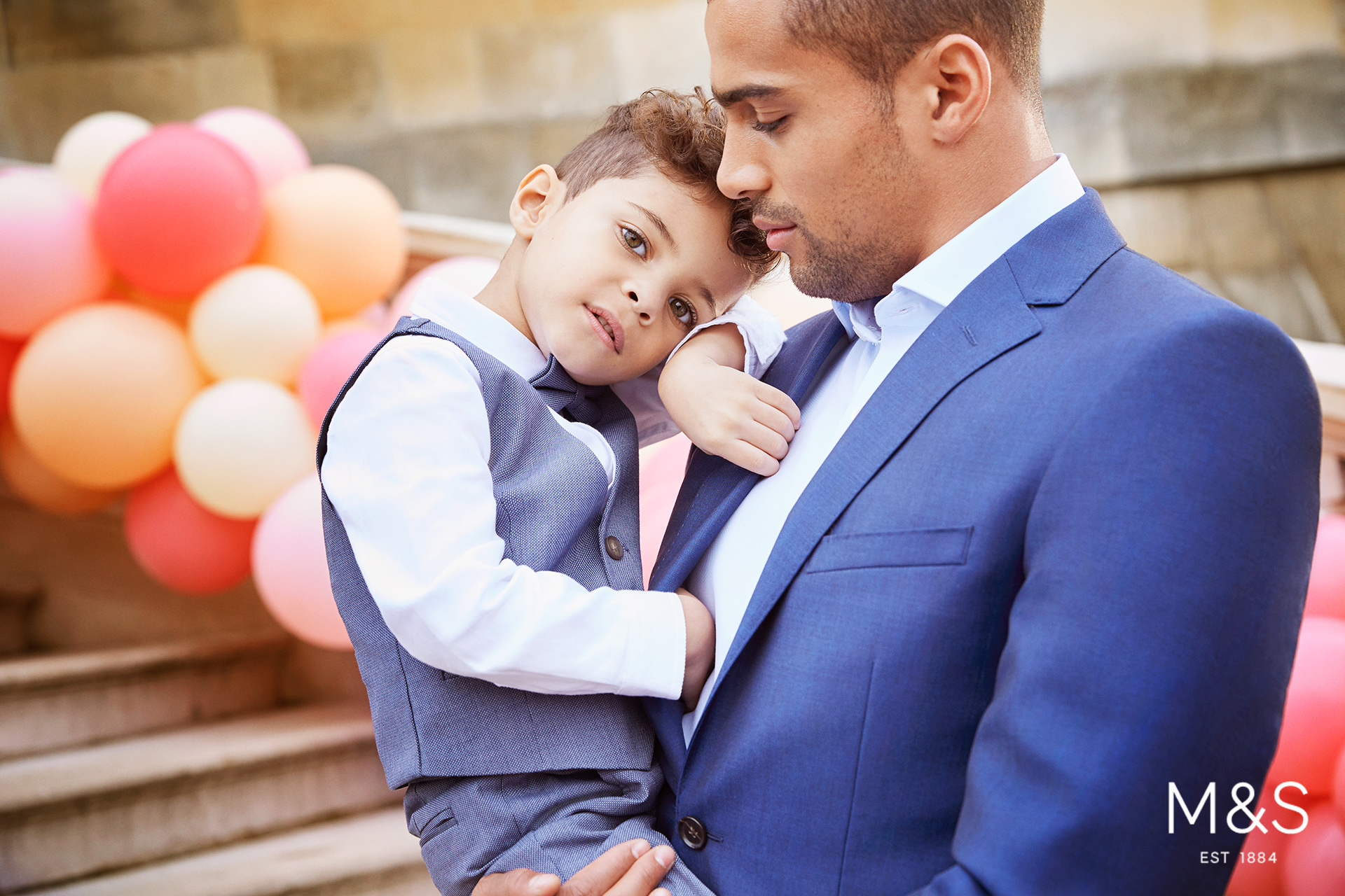 Marks and Spencers kids fashion wedding campaign