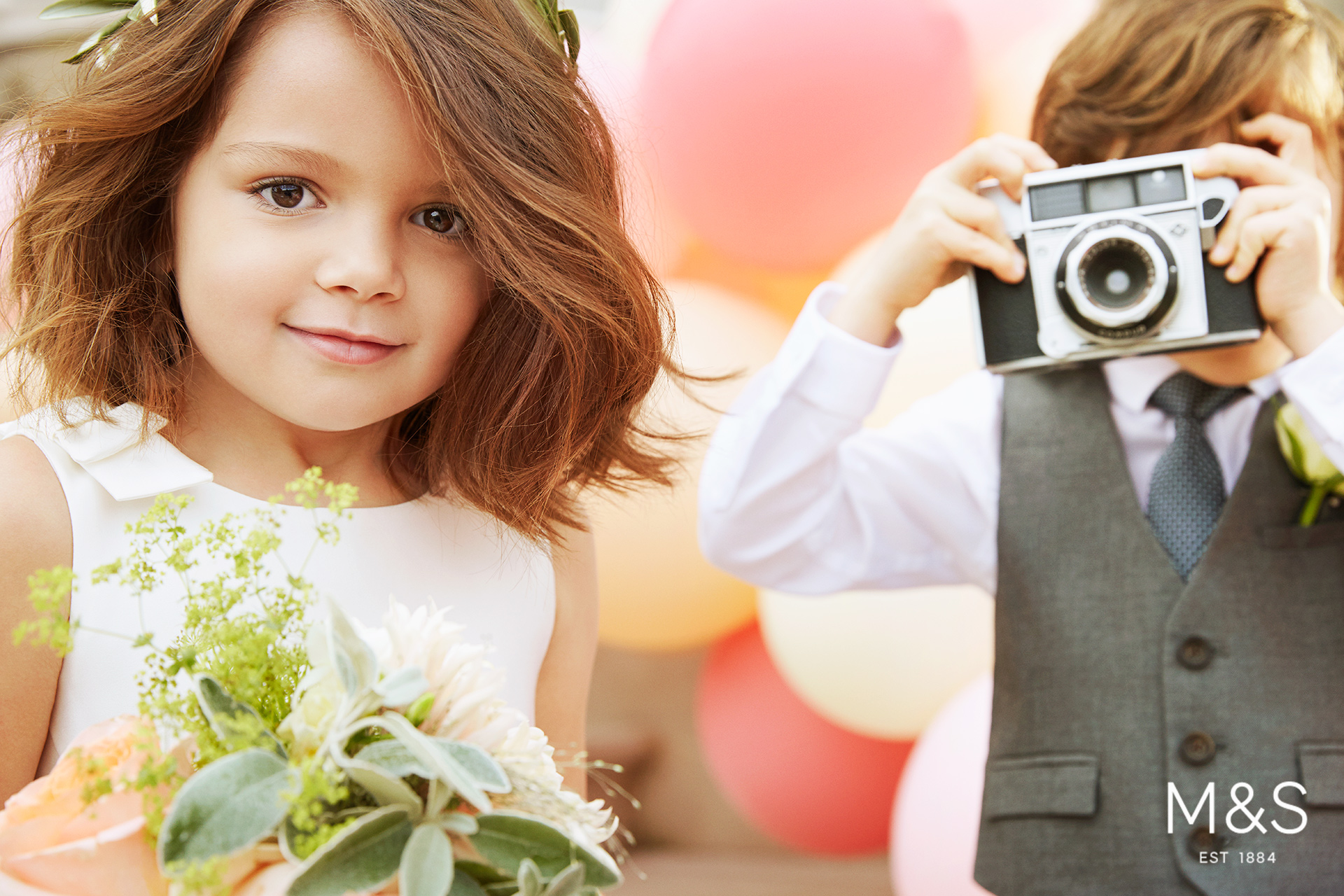 Marks and Spencers kids fashion wedding campaign 8
