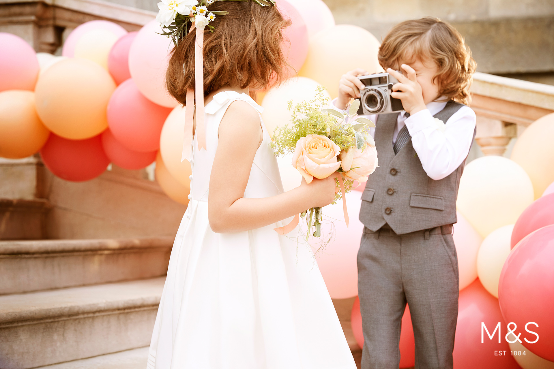 Marks and Spencers kids fashion wedding campaign 2