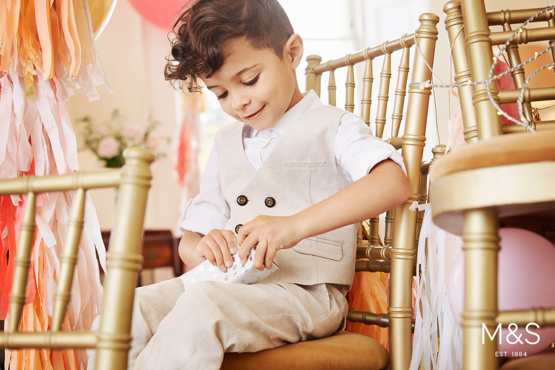 Marks and Spencers kids fashion wedding campaign 9
