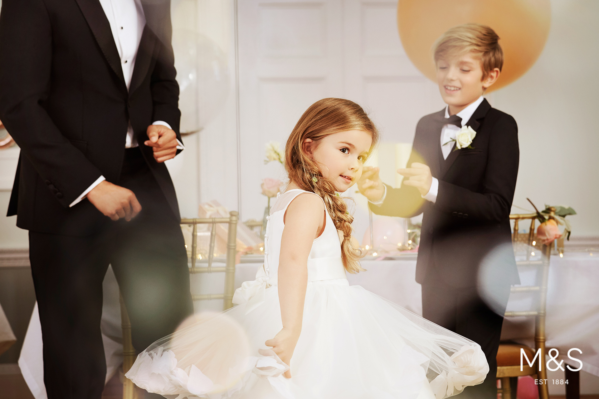 Marks and Spencers kids fashion wedding campaign 10