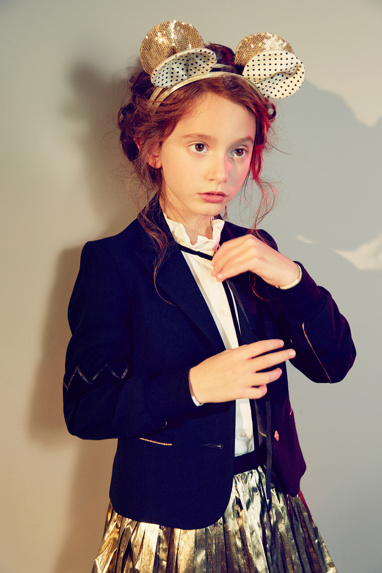 Kids fashion christmas editorial 5