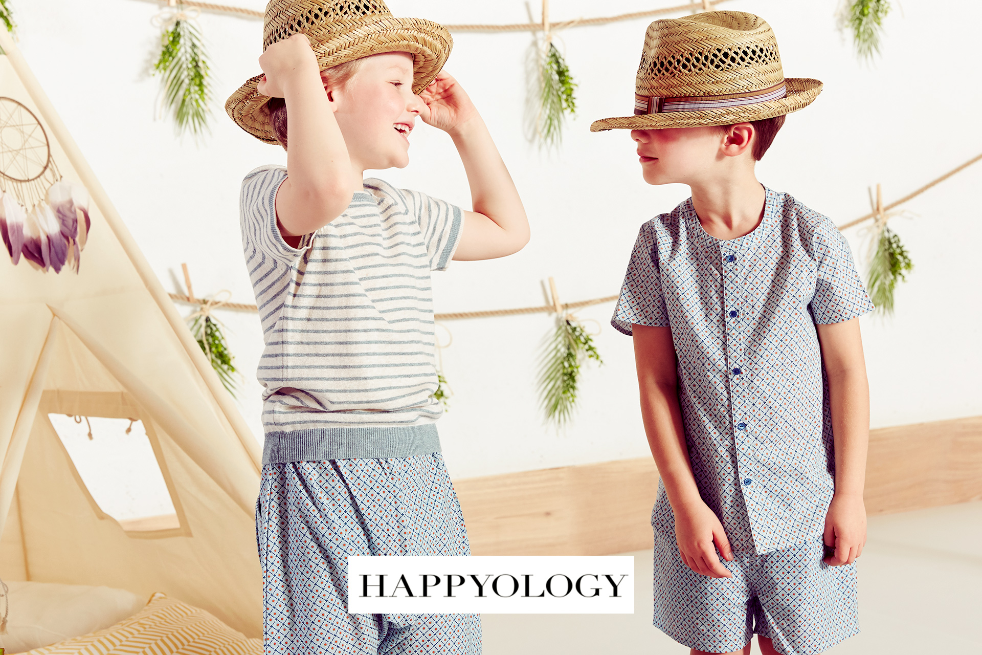 Happyology kids fashion campaign SS 2