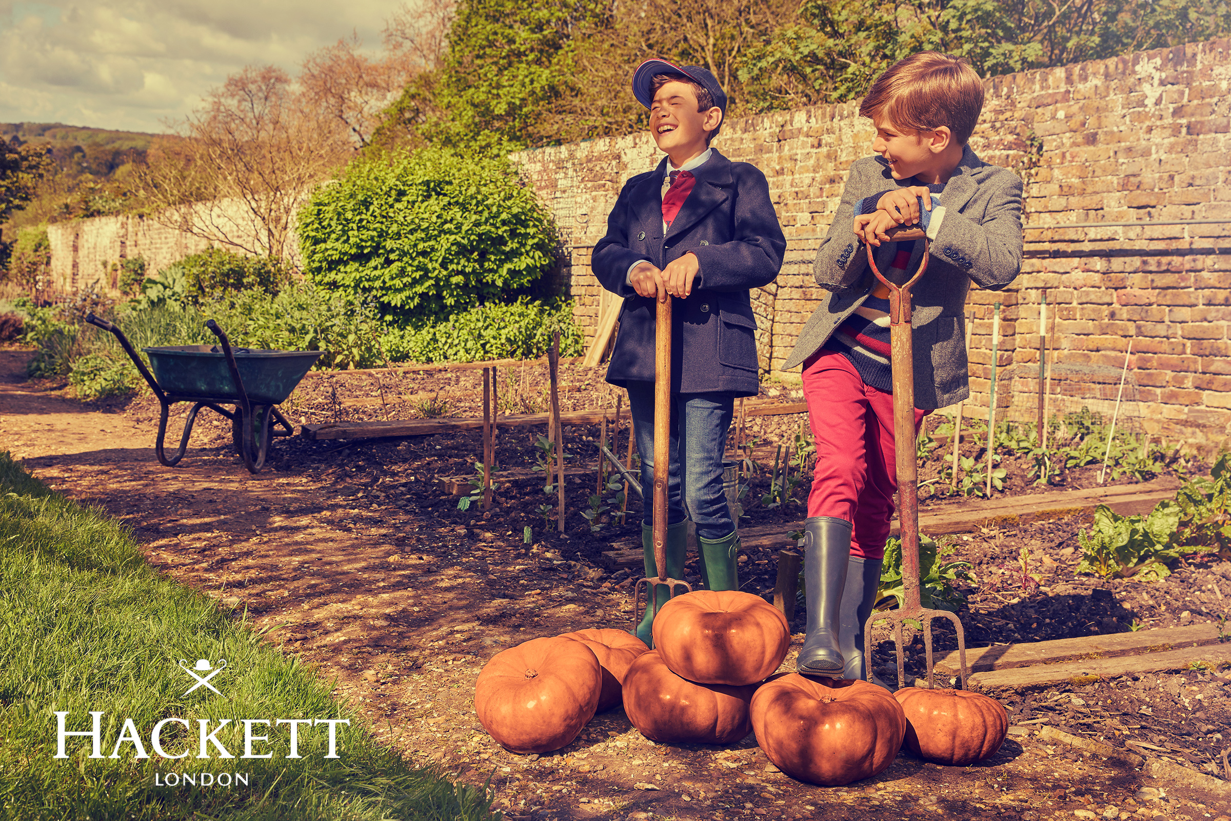 Hackett boys kids fashion campaign Autumn Winter 4