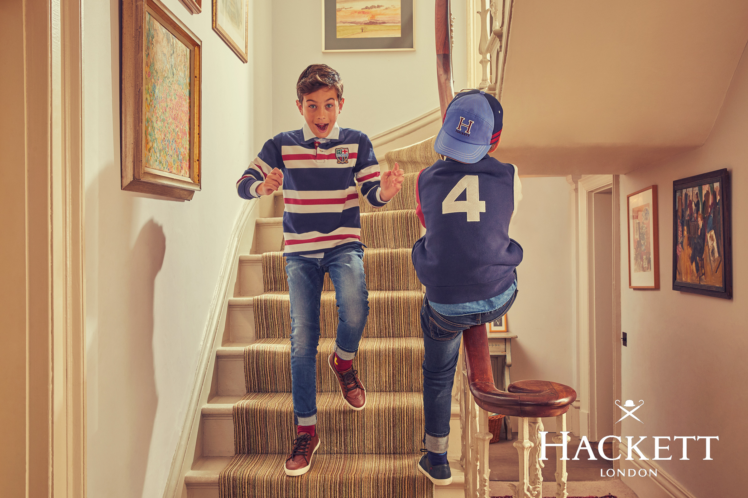 Hackett boys kids fashion campaign Autumn Winter 5