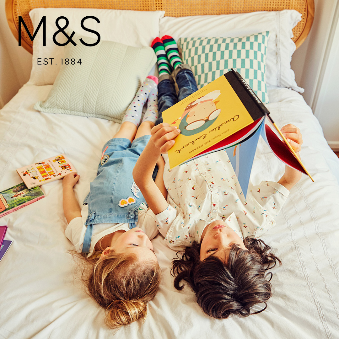 Marks and Spencers kids fashion reading