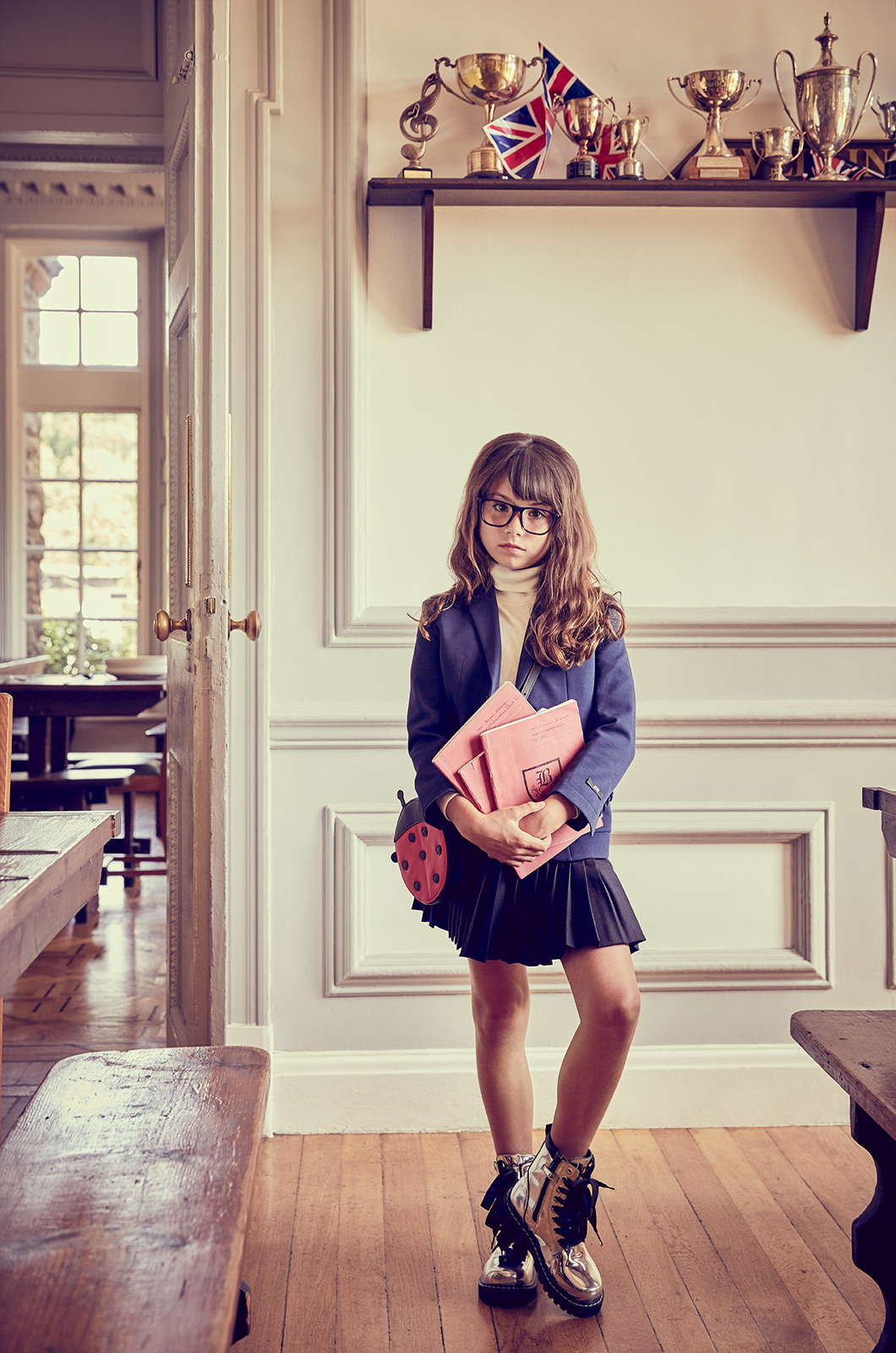 Kids magazine school fashion editorial 7