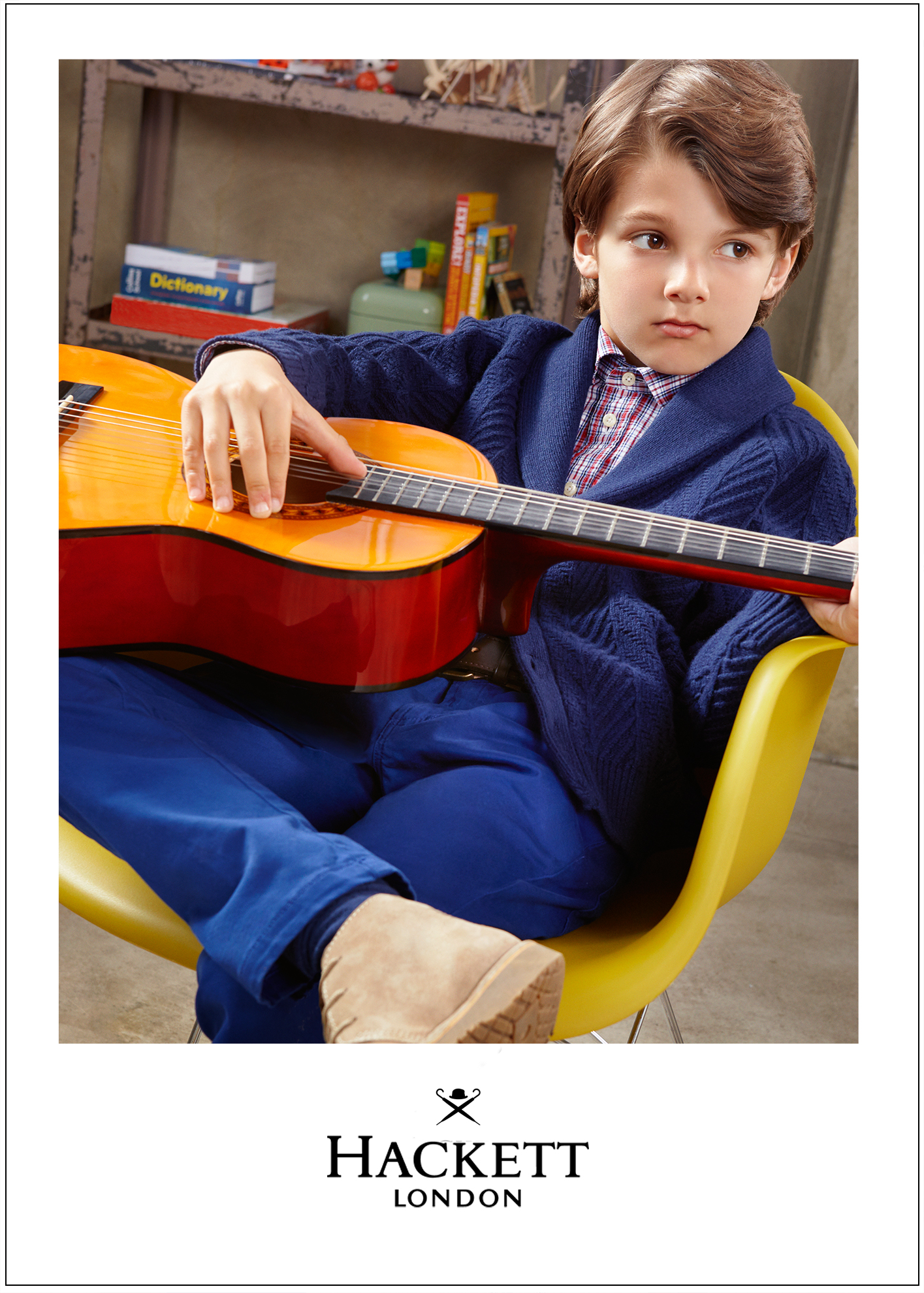 Hackett boys kids fashion campaign Little Men 2