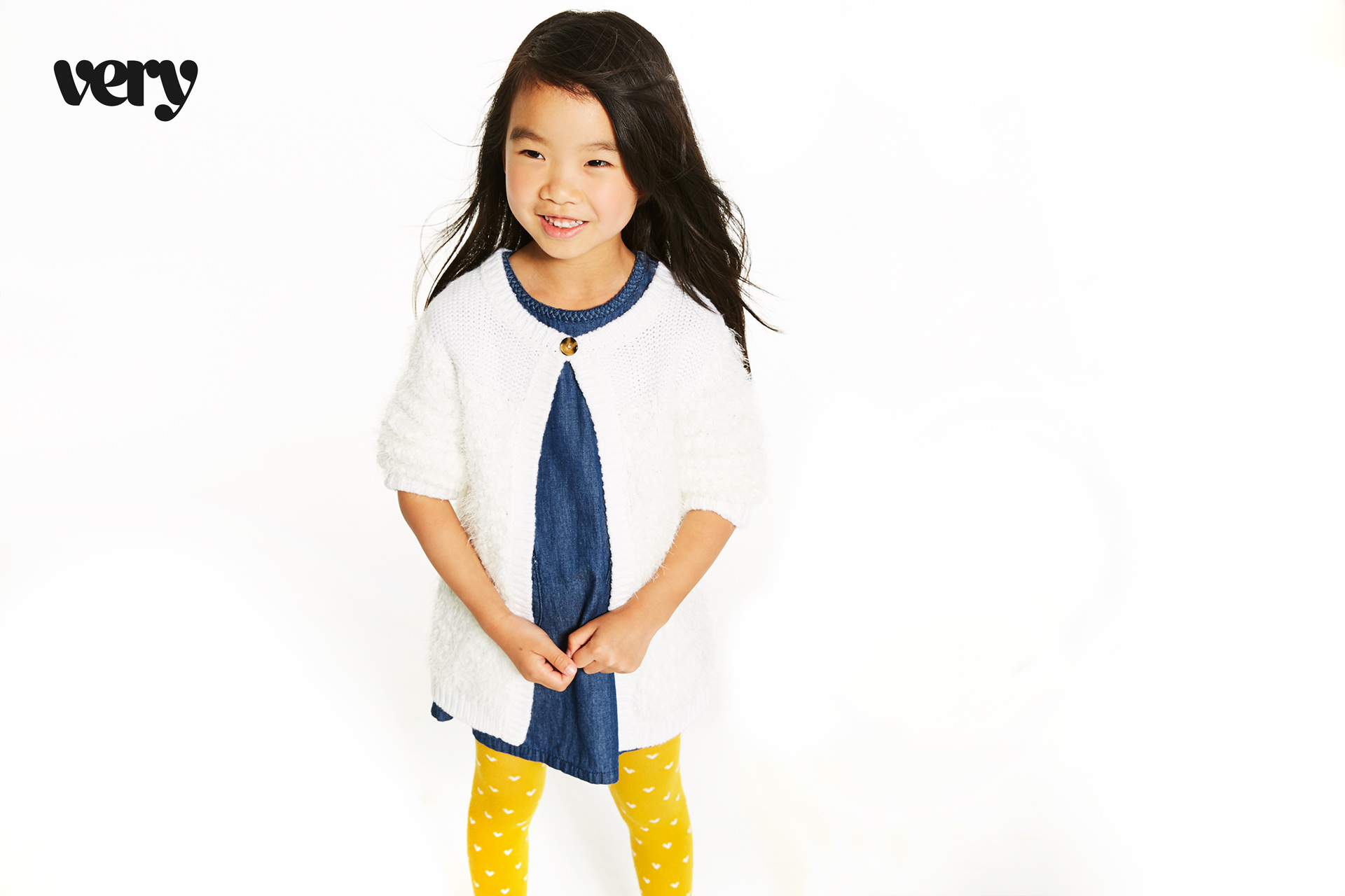 Very kids fashion campaign white 7