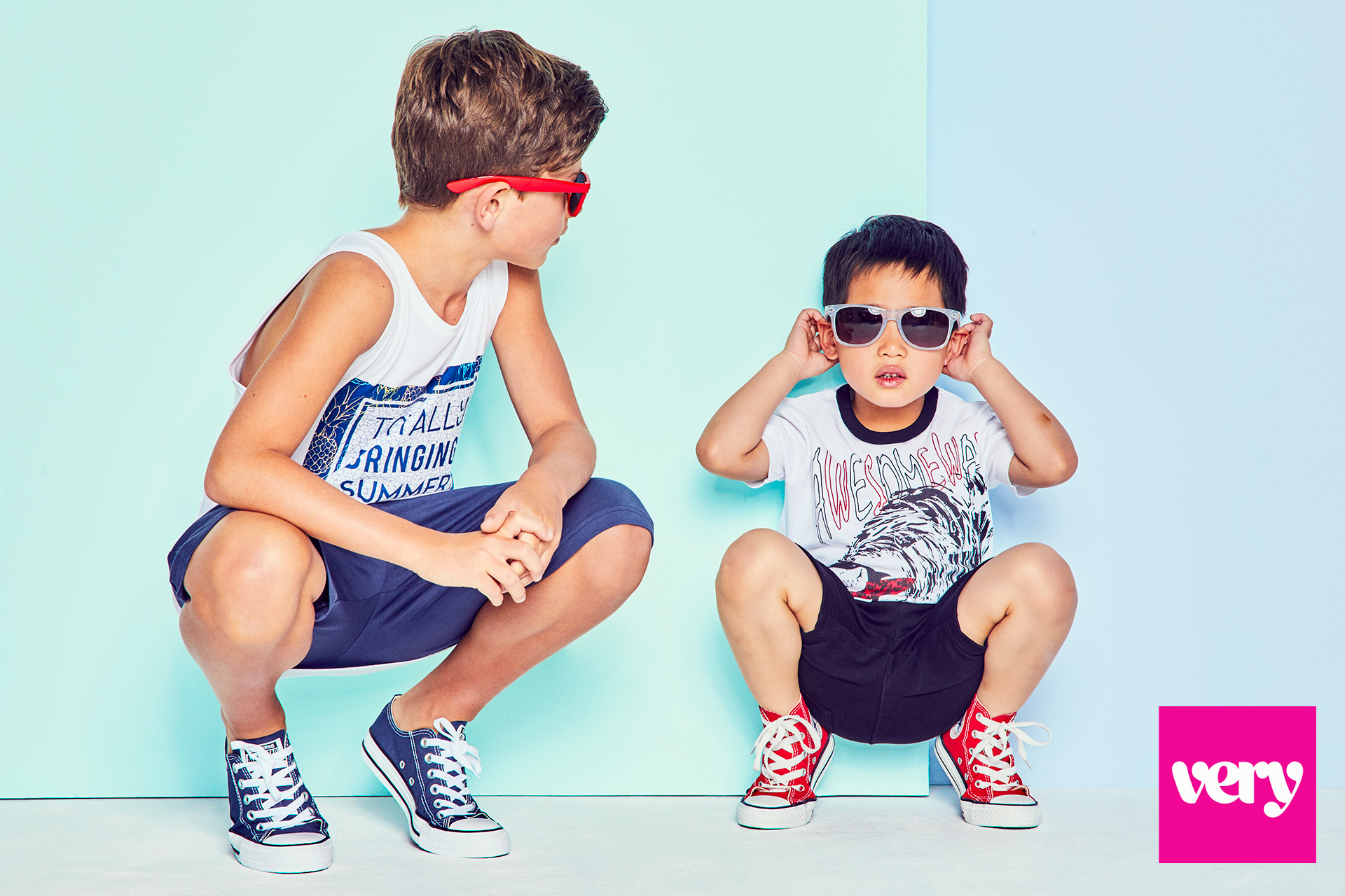 Kids fashion campaign colour pop 3
