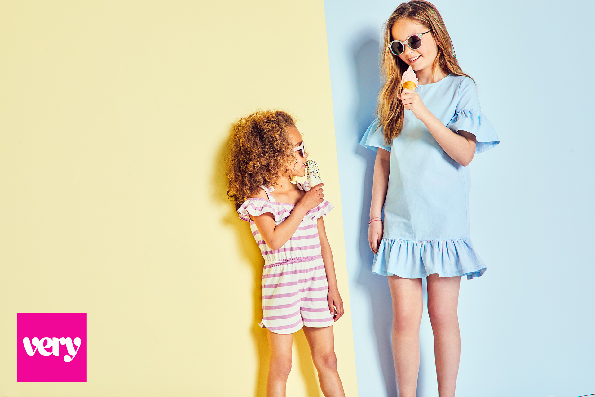 Kids fashion campaign colour pop 1