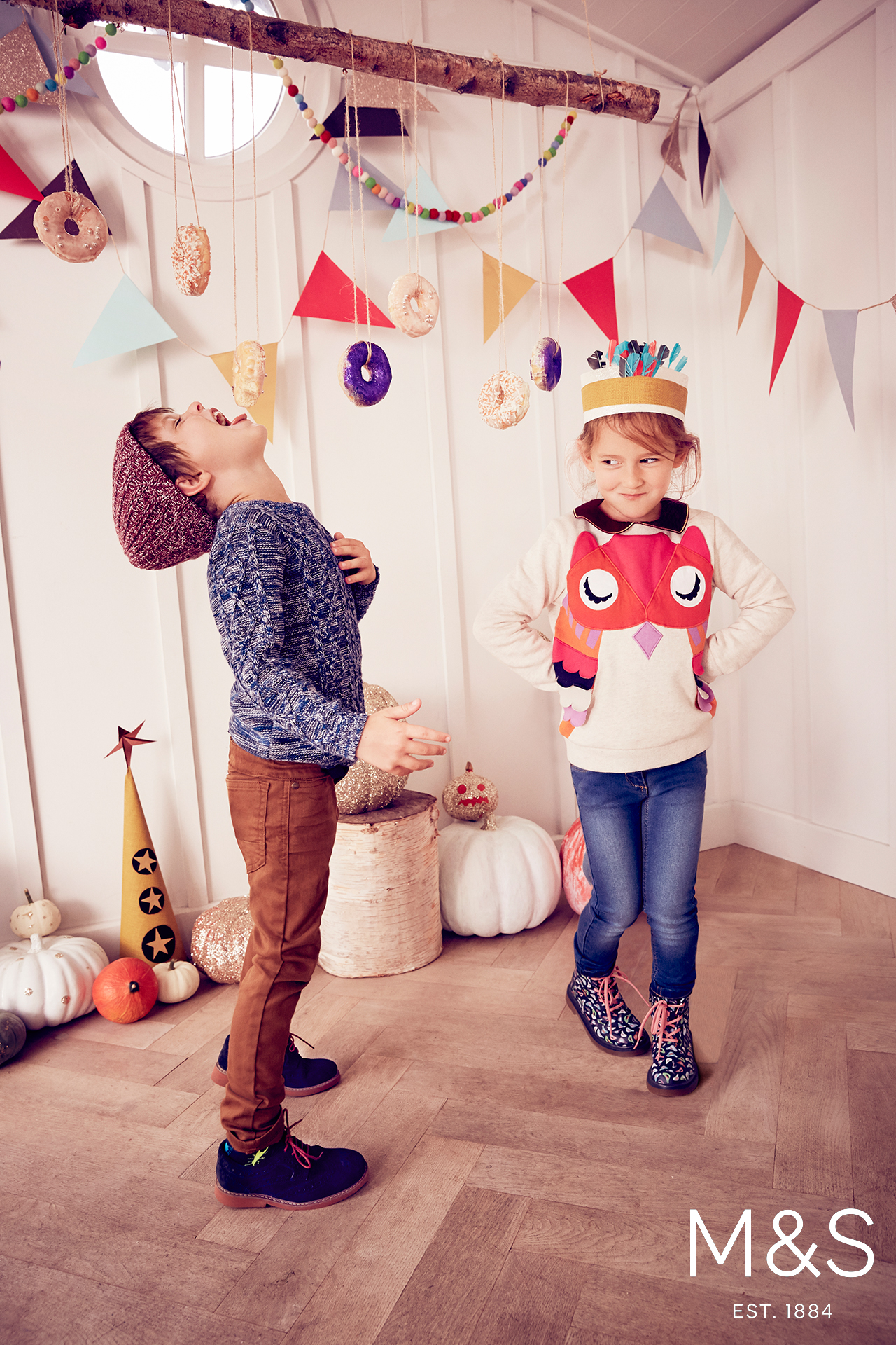 Marks and Spencers kids fashion skandi halloween 4