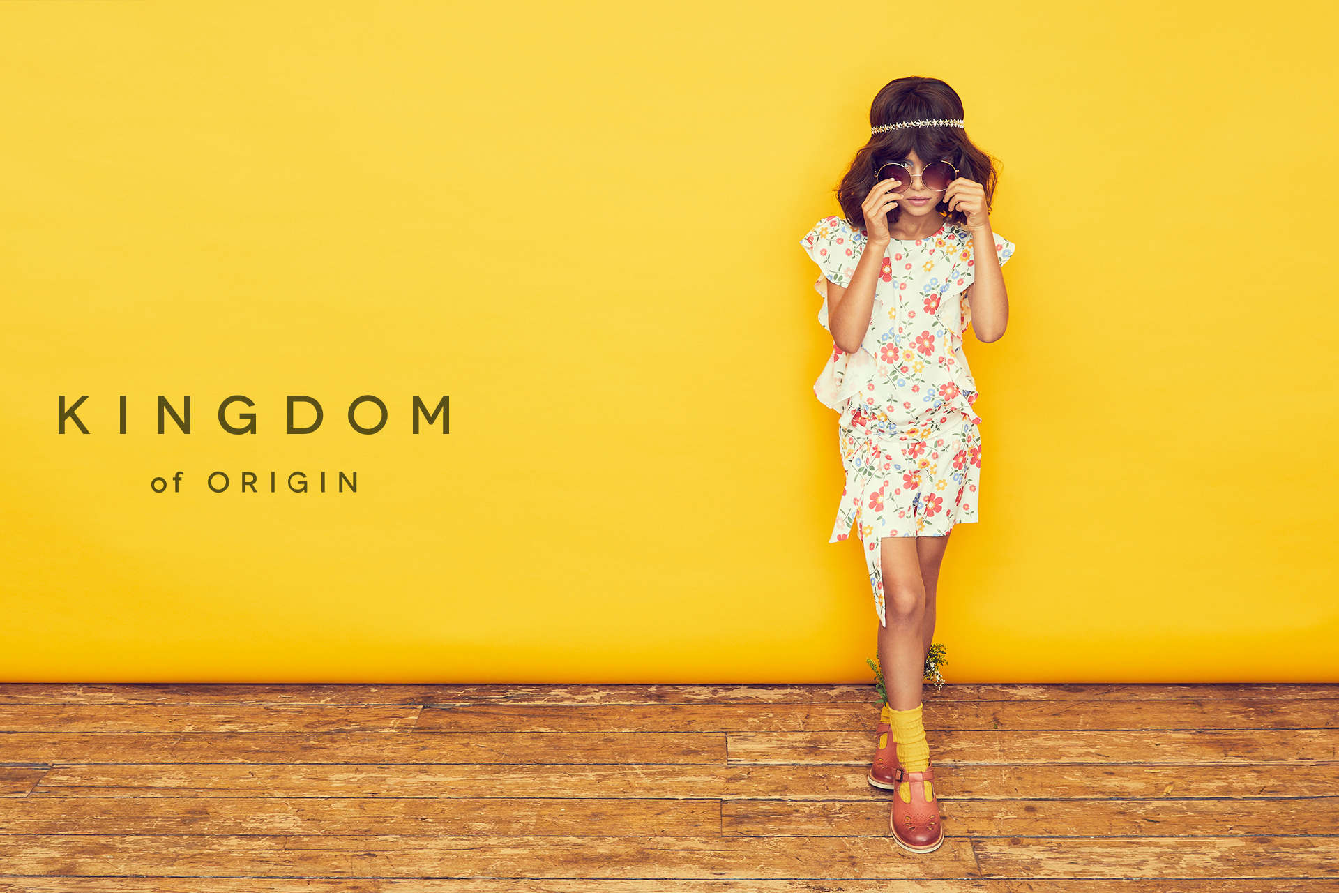 KOO girl kids fashion looking cool