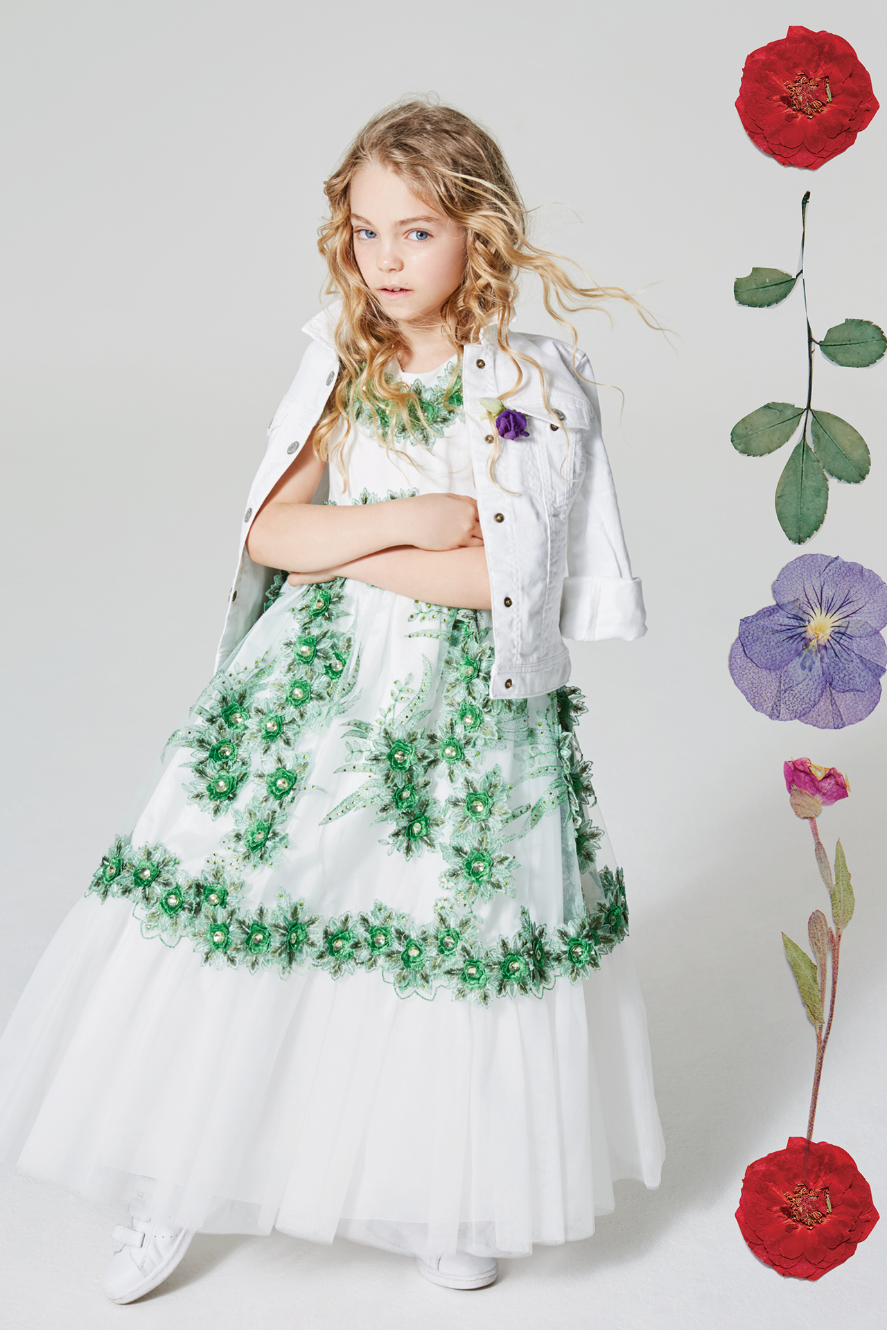 Floral kids fashion girl 10 Emma Tunbridge
