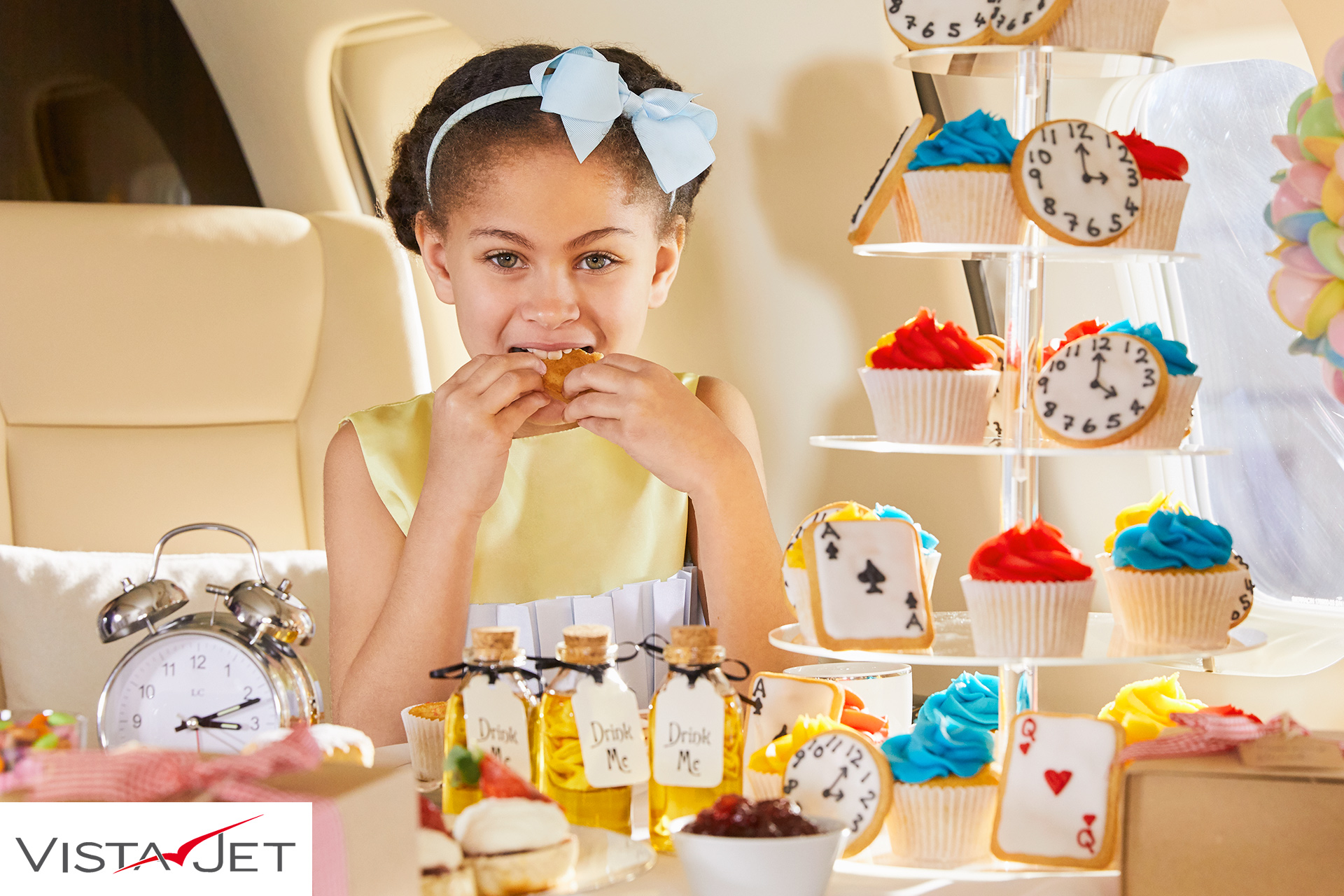 Childrens bespoke parties on planes