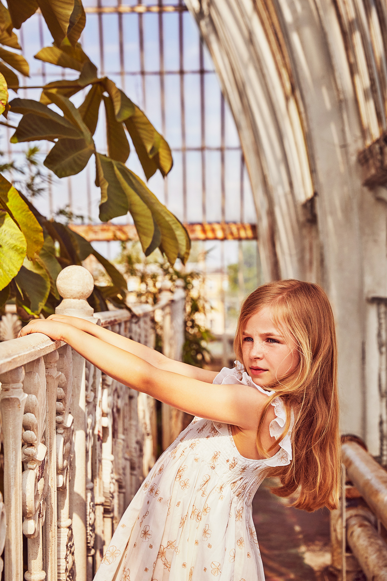 Kew gardens- kids fashion editorial- Emma Tunbridge 2