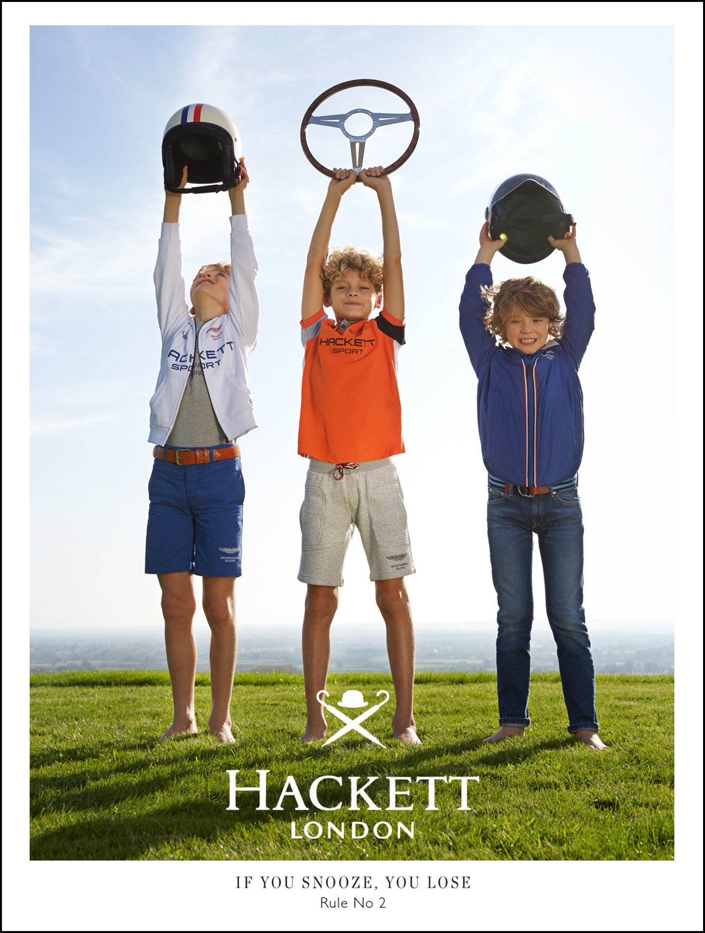 Hackett boys kids fashion campaign Rules for boys