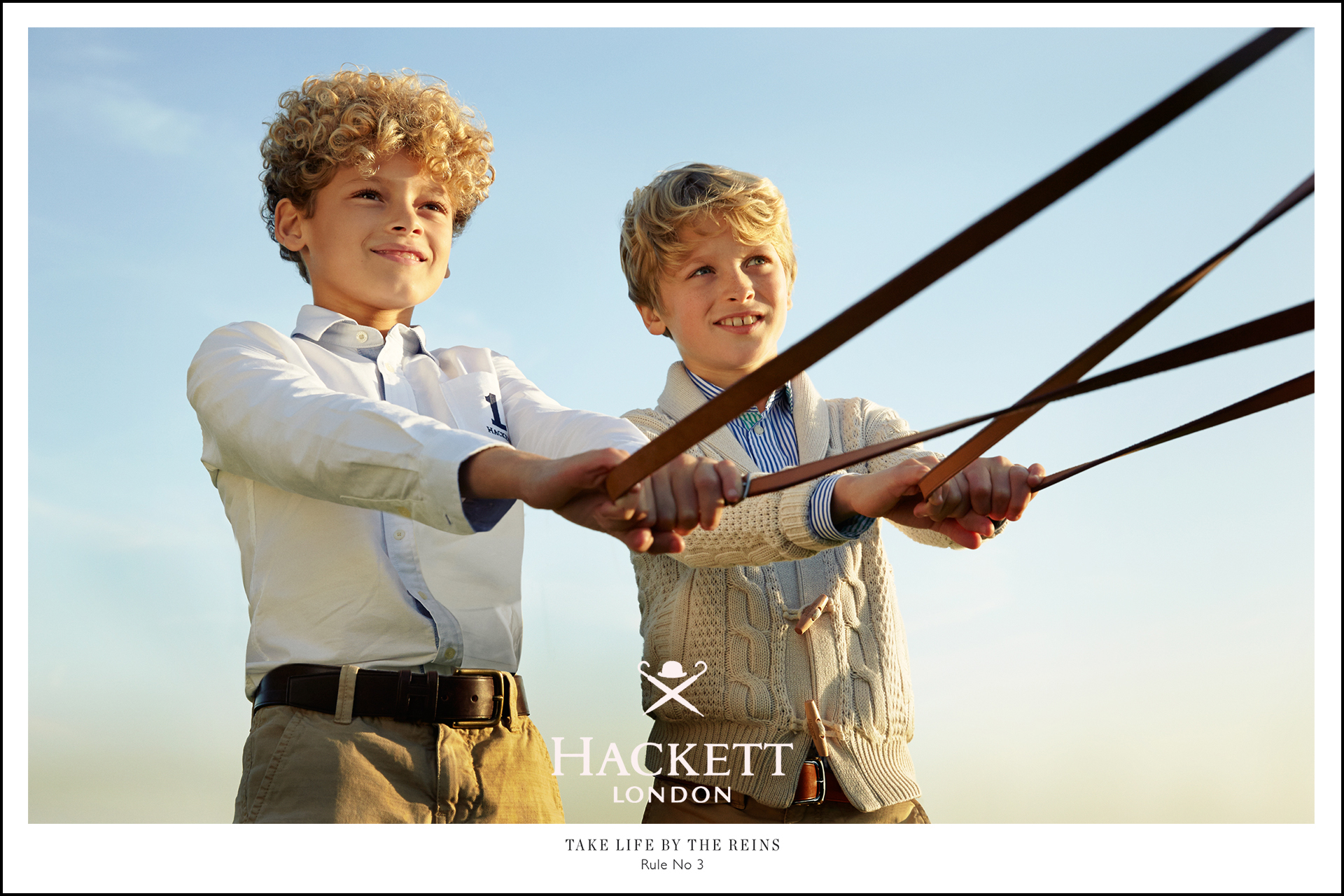 Hackett kids fashion campaign Rules for boys 7